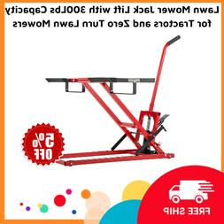 Lawn Mower Jack Lift with 300Lbs Capacity for Tractors and Z